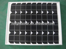 high efficiency best price 75w pv cell solar panel for 25 years