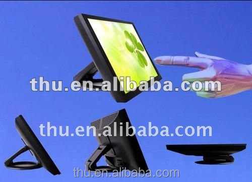 warranty 1 year new stock 19 inch 16:10 DVI VGA input wide oled touch screen display for alcatel