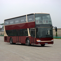 Closed Top Sightseeing Double Decker City Tour Bus for Sale