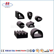 Different shaped rubber 90 degree door seal weather strip
