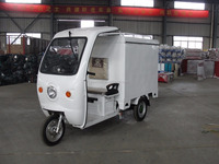 3 wheel electric delivery tricycle vehicles