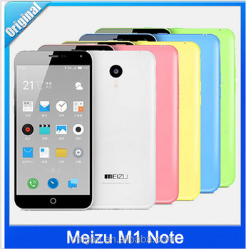 "Wholesale Meizu M1 Note 4G FDD LTE Dual SIM Mobile Phone 5.5"" 1920X1080P MTK6752 Octa Core 13MP Android 4.4 Noblue Note In Stock"