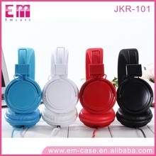 Fashion Young People loves Headphone with wire Folding Eearphone for Cell phone/Computer