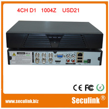 H.264 4CH DVR with D1 resolution and P2P best suit for CCTV DVR security system