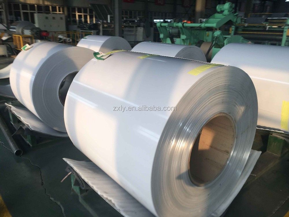 Henan Factory Price 3105 Coated Color Aluminum Gutter Coils on alibaba