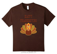 fancy mens t-shirt with thanks giving printed logo