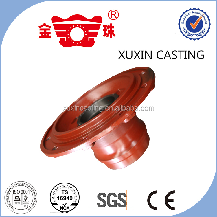 China factory custom truck casting parts semi truck rear wheel hub