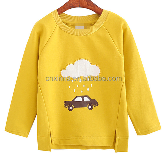 Autumn Children's long sleeve korea new undershirt 100% cotton
