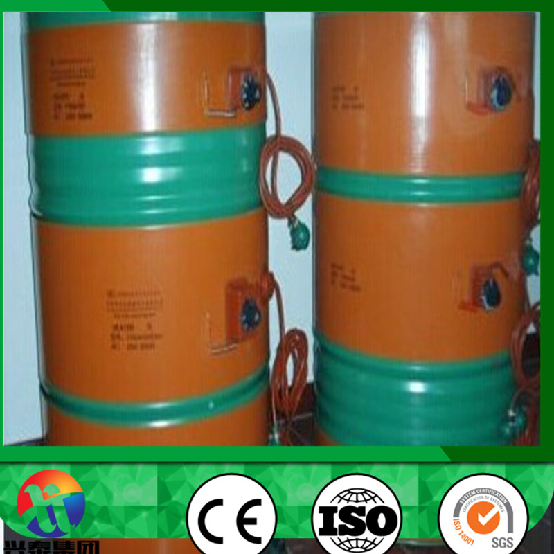 Manufacturer 200L Silicone Drum Pad 1740 X 250mm Oil Heating