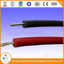 Super soft flexible thin 24AWG silicon rubber coated copper wire