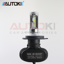 25W 6500K Long Life Led Head Light Extra Auto Headlight For Car