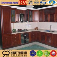 Home interior timber door lacquer finish white gloss door carcass melamine kitchen cabinets