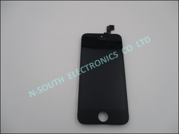 Brand New Grade A lcd display+touch screen digitizer assembly replacement for iphone 5s black