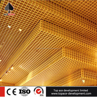 Best quality wood ceiling tile wood pvc ceiling grid panels in china