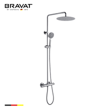 Square wide Single Lever Bath/Shower Mixer Set with Rain Shower bath rain shower sets F939114C-A-RUS