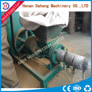 High Efficiency And Competitive Price Biomass Homemade Fuel Briquette Press Machine For Sale