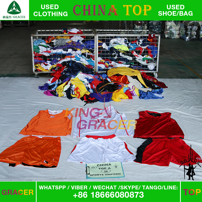 zhongshan mixed used sport clothing for sale