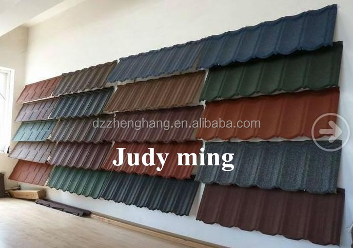 Most Popular Stone Coated Metal Roof Tile