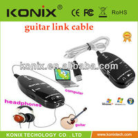 Wholesale Guitar Link with Guitar to USB Cable for PC Laptop Computer