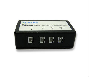 M-FACE -- USB multi switch interface for computer