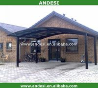 new design cantilever carport canopy with strong aluminum frame