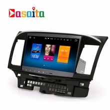 "Dasaita 10.2""touch screen Android 6.0 Car DVD radio gps navigation for Mitsubishi Lancer ex 10 EVO with Multimedia player"