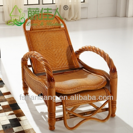 Natrual Rattan Antique Rocking Chair