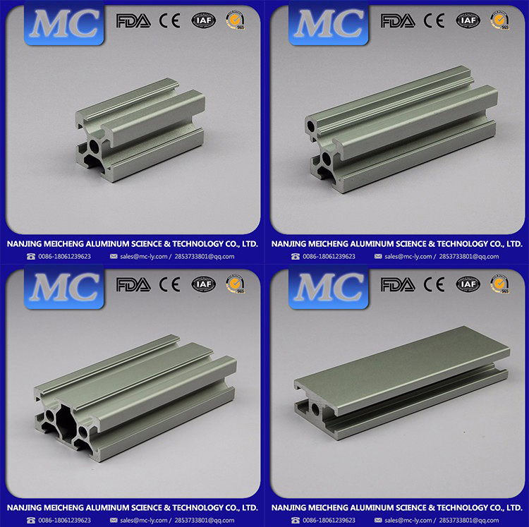 Meicheng Reliable Experience Very Beautiful Solid share 2040 aluminum profile