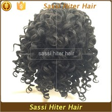 Discount Sale In QingDao Fashionable Human Hair Curly Hair Wig
