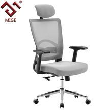 Ergonomic High Back Grey Big and Tall Office Chairs