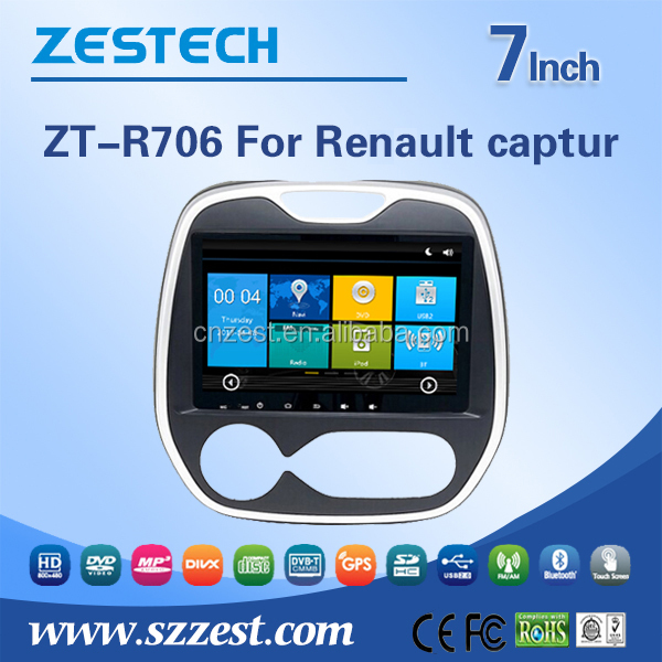 7inch car dvd player for renault captur touch screen car dvd gps with radio bluetooth car gps. Black Bedroom Furniture Sets. Home Design Ideas