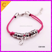 CB81999 wholesale factory price high quality beads simple designs red string bracelet