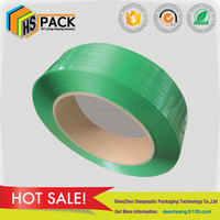 High tension multi-colors pet strap polyester packing strap for metal cottons glass bottles,raw paper,woods, pallet