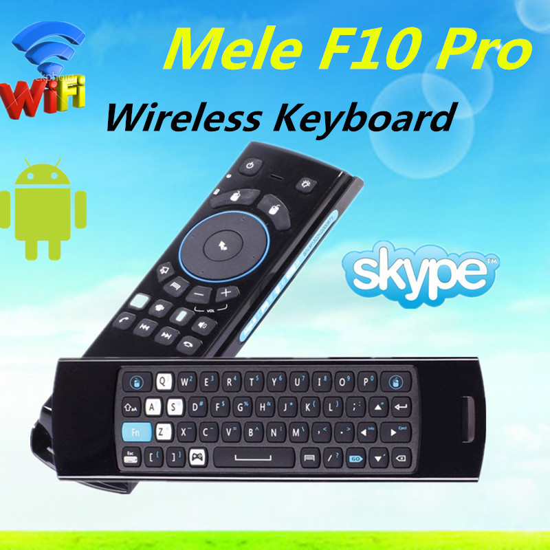 Cheapest Hotsell mele f10 2.4g wireless fly mouse keyboard