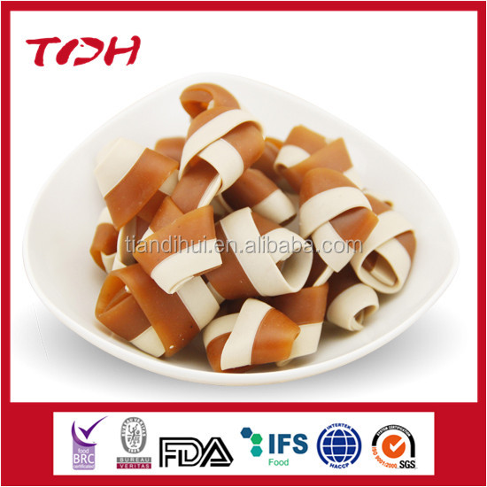 functional from China market pet treat oval shape dental bones OEM Qingdao pet food