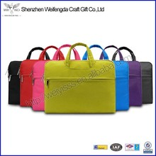 Multicolor new design waterproof fabric laptop bag 11.6 for apple computer
