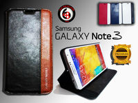 NEW FACE Folio Wallet for Samsung Galaxy Note 3