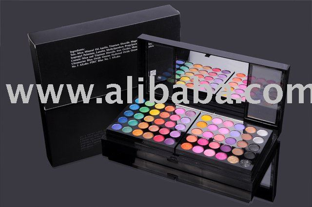 Cosmetics brush,180color eyeshadow palette,blusher,mascara,eyeliner,lipgloss,lipstick,powder cake,foundation,nail polish,pigment