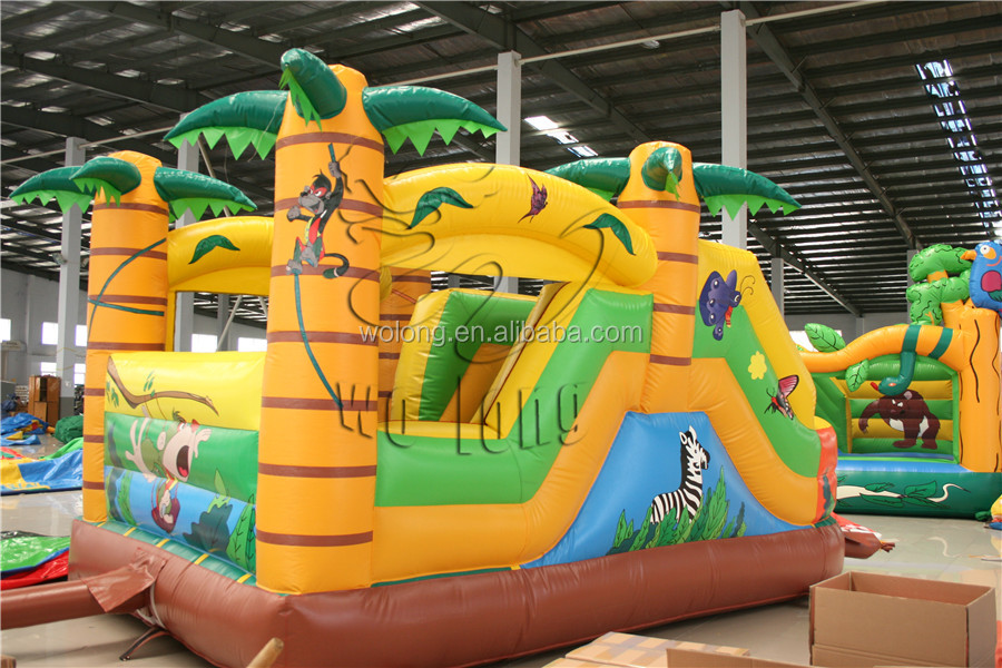2015 hot sale commercial jumping castle inflatables