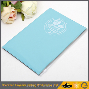 PVC super clear transparent book cover A4 clear pvc book cover transparent plastic pvc binding cover