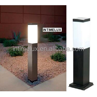 SS802-450-LED outdoor square stainless steel led garden lamp