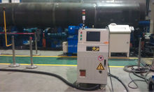 High efficiency induction welding machine