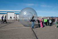 hot sale inflatable human plastic ball
