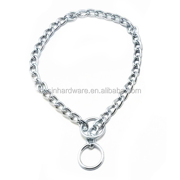 Fashion High Quality Metal Dog Collar Choke Chain