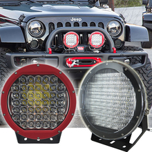 New 10'' 225w led driving light round 4x4 , auto parts 225w led driving light, spot flood 225w led work light boat