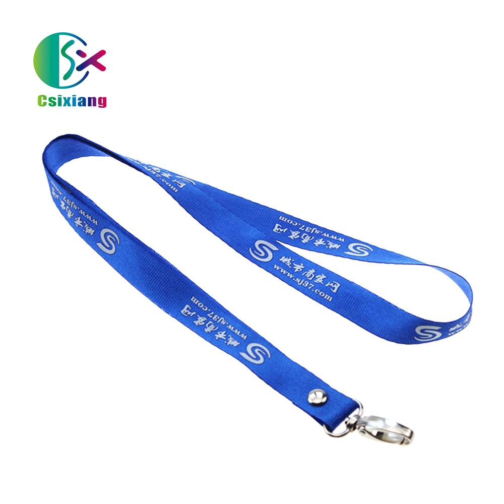 Wholesale Special Design Nylon Cartoon Lanyards Rivets Printed Silkscreen with wholesale price