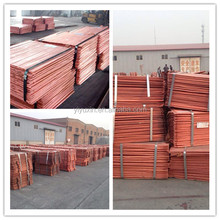 High quality and low price copper cathode long cooperation 99.99%