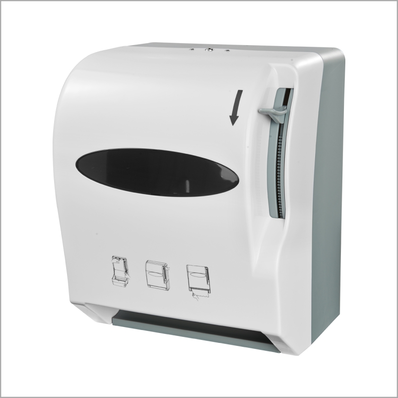 Bathroom Accessories Tissue Towel Dispenser Plastic Kitchen Roll Dispenser