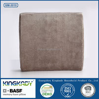 Hot wholesale universal car headrest cover back support memory foam pillow/Coffee Seat Memory Foam Back Cushion