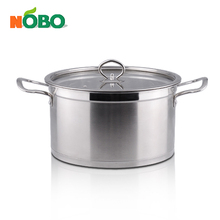 High quality stainless steel casserole with 18-26cm